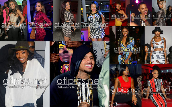 (CHRIS BROWN, BRANDY ) 10.25.14 Compound (brought to you by ALEX GIDEWON for AG entertainment)