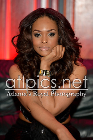 4.14.14 Demetria McKinney Album Listening Party @ Treesound Studios