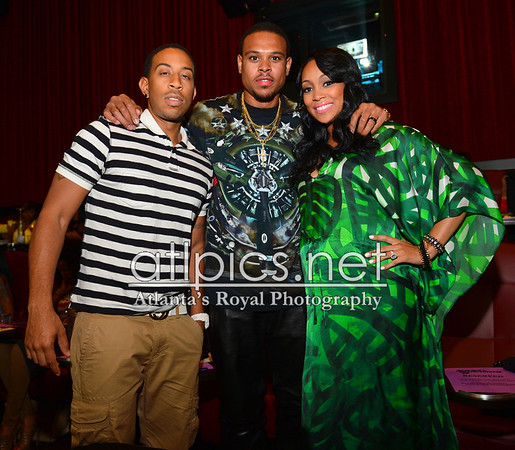 (Ludacris, Toya Wright, Young Jeezy, Keshia Knight Pulliam, Big Tigger, Monica....)5.16.13 VIP Private Screening Fast and Furious Hosted by Ludacris@ CineBistro