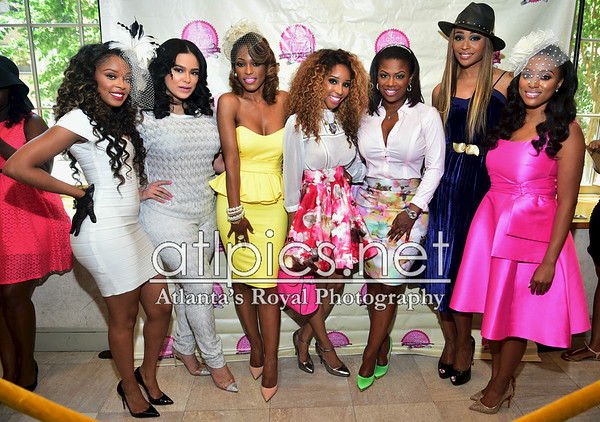 7.27.14  A Royal Tea Seminar hosted by Emily B, LaTasha Wright, Kandi Burruss, Cynthia Bailey, and Necole Bitchie