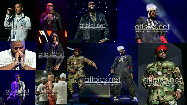 6.28.14 NOKIA THEATER/ OutKast Concert / LOS ANGELES / PRINCE WILLIAMS 2014