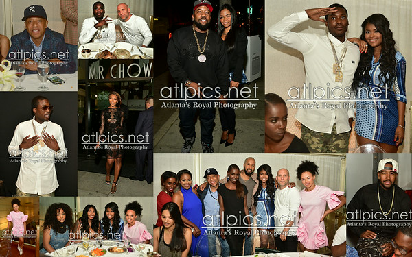 6.27.14 MR. CHOW Steve Rifkind & Russell Simmons Private Dinner /LOS ANGELES / PRINCE WILLIAMS 2014