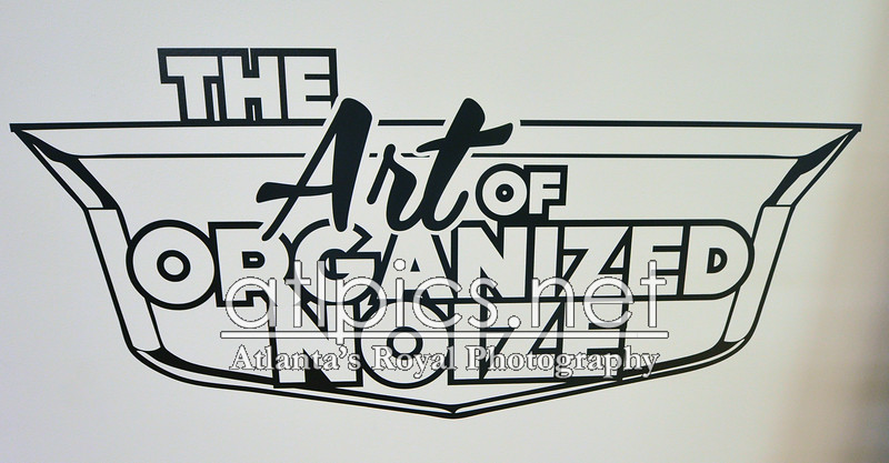 "10.15.15  THE OPENING OF ELEVATE ATL ART EXHIBIT ""THE ART OF ORGANIZED NOIZE"" AT GALLERY 72"