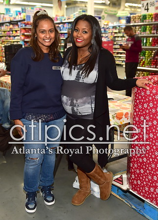 11.19.16 SHANTI DAS & KESHIA KNIGHT PULLIAM PRESENTS FOOD DRIVE TO BENEFIT 5TH ANNUAL NO RESERVATION NEEDED DINNER @THE ATLANTA MISSION