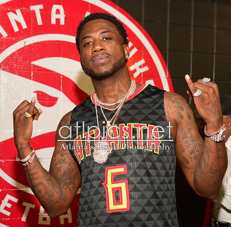 11.22.16  GUCCI MANE HALF TIME SHOW: ATLANTA HAWKS VS. NEW ORLEANS @ PHILIPS ARENA