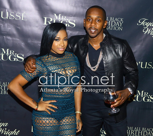10.29.15 MR. RUGS AND TOYA WRIGHT ALL BLACK BIRTHDAY CELEBRATION AT XS LOUNGE