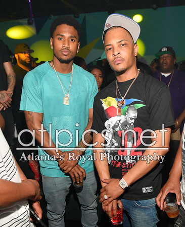 6.19.16 TREY SONGZ +T.I. HOST BIRTHDAY BASH FINALE AT XS LOUNGE