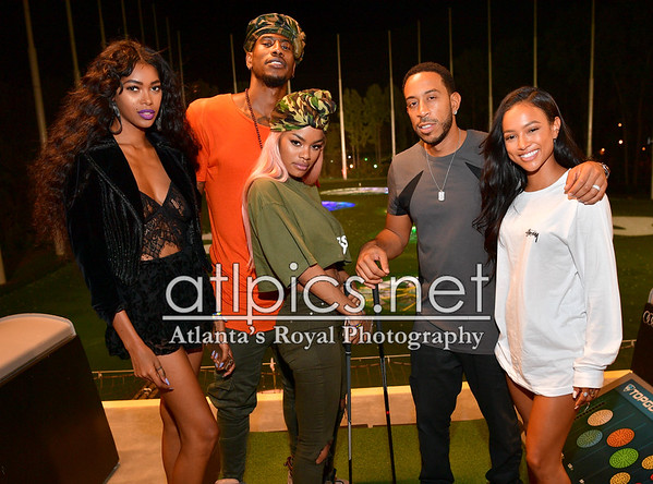 9.4.16 LUDA-DAY TOPGOLF TAKEOVER HOSTED BY LUDACRIS, KENT BAZEMORE OF THE ATLANTA HAWKS, Teyana Taylor, Iman Shumpert, Karrueche Tran, Jessica White  and More..