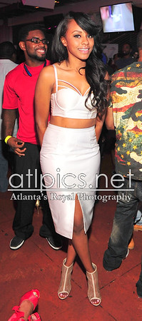 7.31.15 *Celebrity Sitings* Omar Slim White of Plus Blue Entertainment brought Tank to Suite Lounge