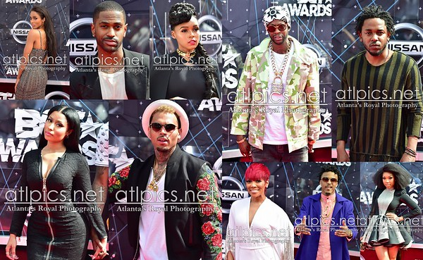 BET Awards 2015 Los Angeles Prince Williams / ATLpics.Net